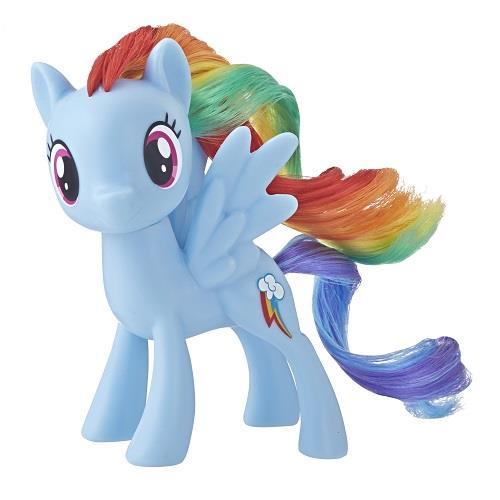 彩虹小馬-3吋基本小馬公仔-圓盒裝-藍