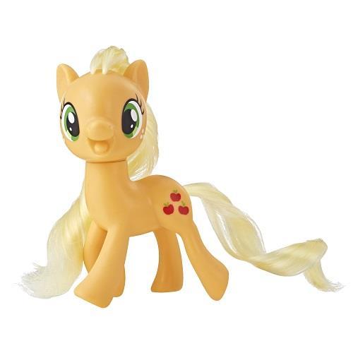 彩虹小馬-3吋基本小馬公仔-圓盒裝-黃