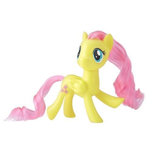 彩虹小馬-3吋基本小馬公仔-圓盒裝-淡黃