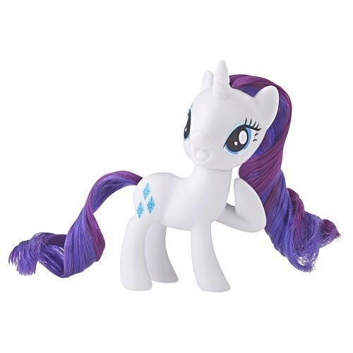 彩虹小馬-3吋基本小馬公仔-圓盒裝-白
