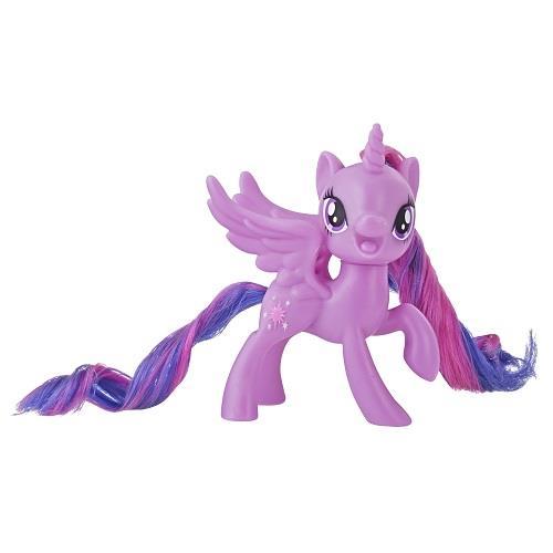 彩虹小馬-3吋基本小馬公仔-圓盒裝-紫