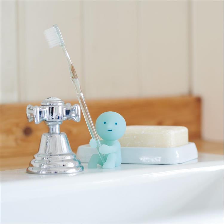 Smiski 夜光牙刷架 牙刷是我的電線桿