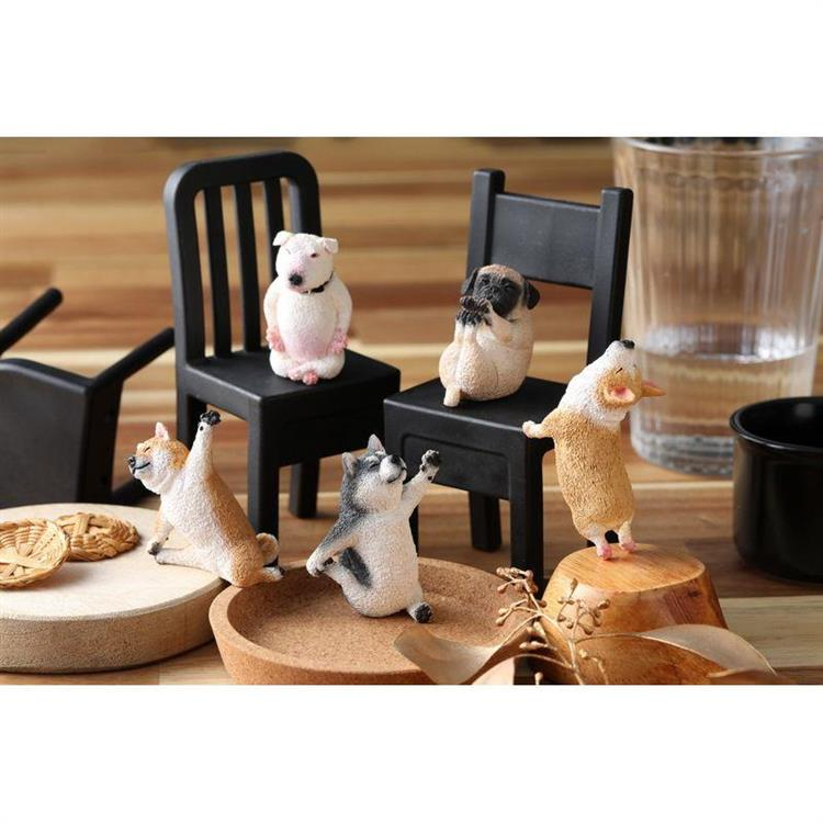 Animal Life 狗瑜珈寶寶(日版)-5款+3款隨機