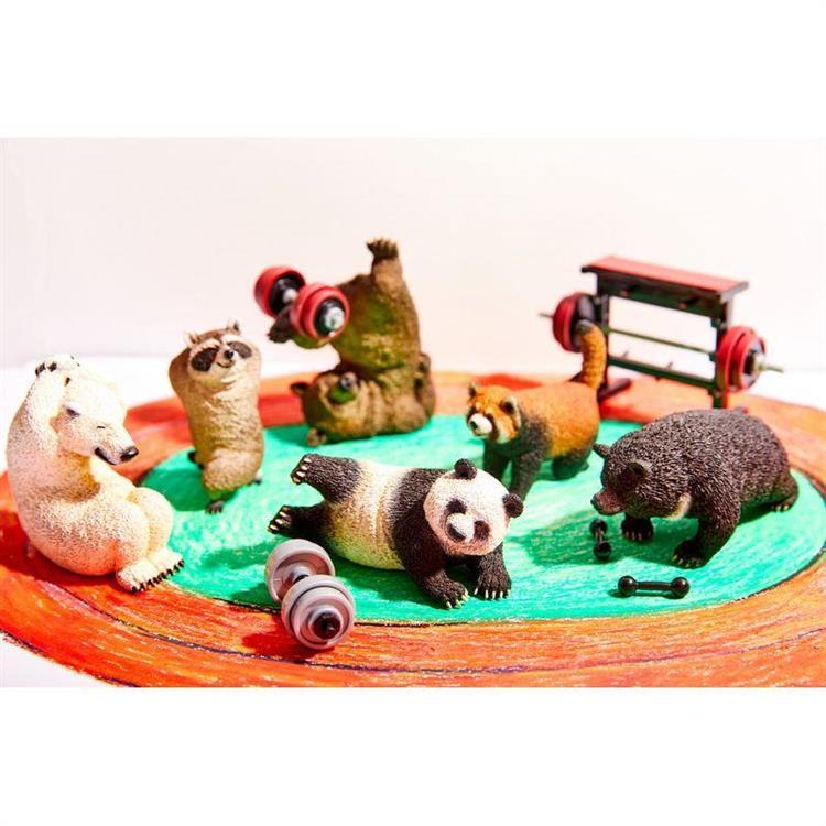 Animal Life 瞧你那熊樣(日版)-6款+2款隨機