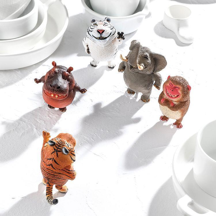 Animal Life 圓滾滾系列-笑嘻嘻Part 1-4款+1款異色款+隨機款1隻