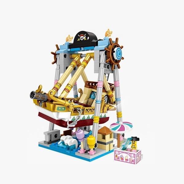 微型積木-瘋狂海盜船