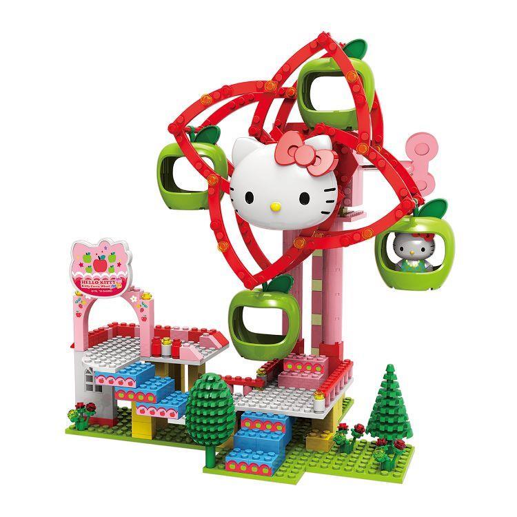 Kitty-樂園-蘋果摩天輪