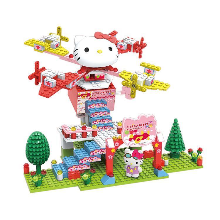 Kitty-樂園-迴旋飛機