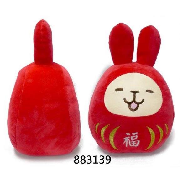 """10""""福氣兔玩偶"""