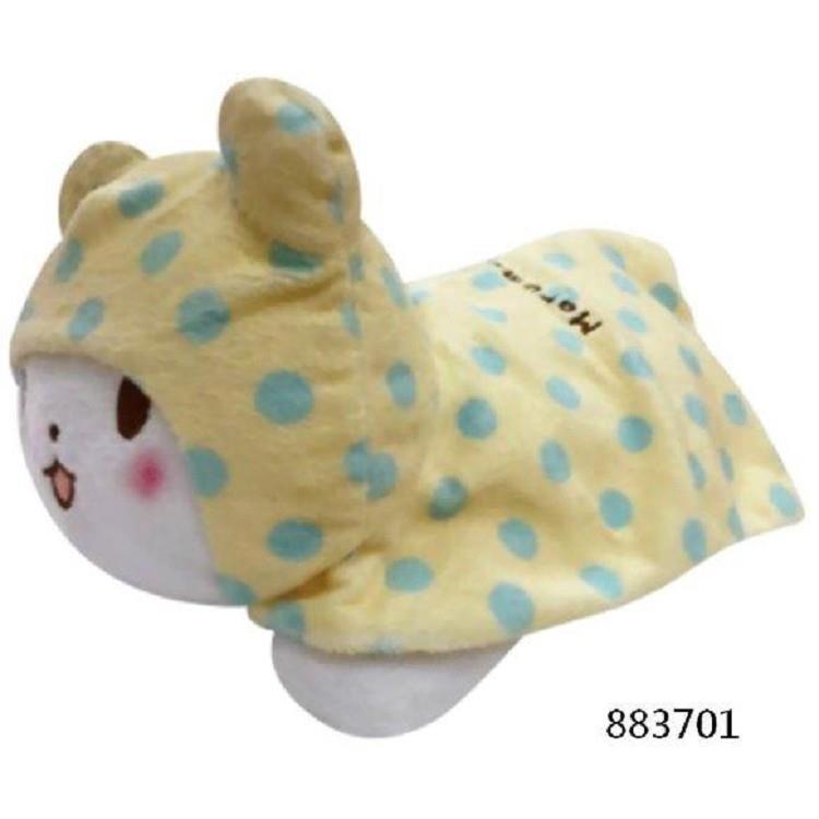 毛毯熊莫普10吋趴姿玩偶