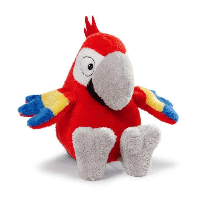 NICI 25cm席爾維鸚鵡坐姿玩偶