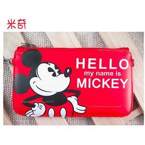 迪士尼橫式手機袋HELLO系列-米奇