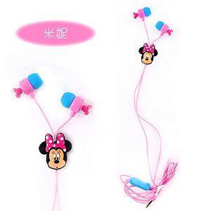 迪士尼米奇頭造型耳機-米妮