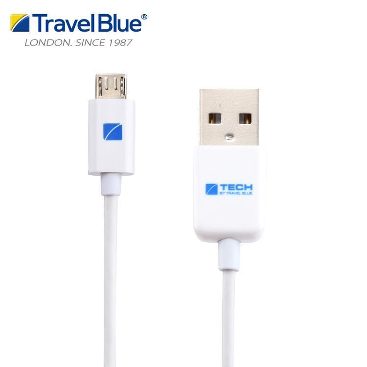 【Travel blue 英國藍旅】USB 2.0 傳輸充電線 TB966