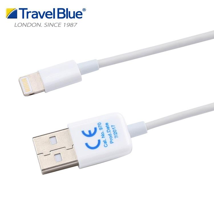 【Travel blue 英國藍旅】IPhone充電線 TB970