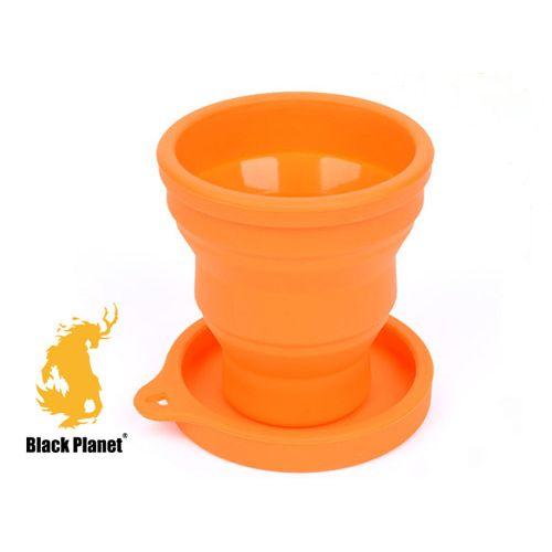 黑星球密蓋旅行折疊杯(麒麟)