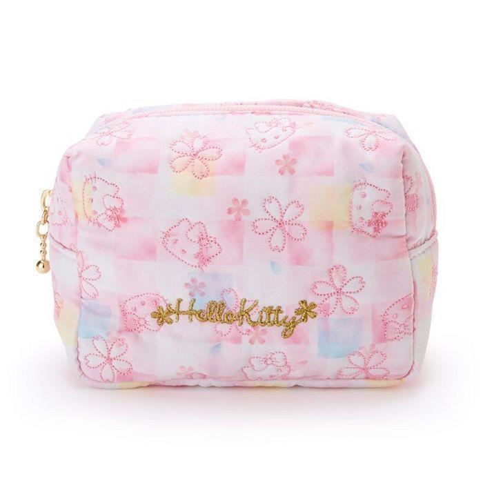 化妝包-Kitty櫻花