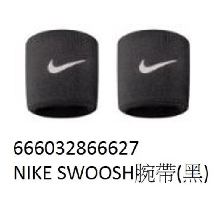 NIKE-SWOOSH腕帶(黑)