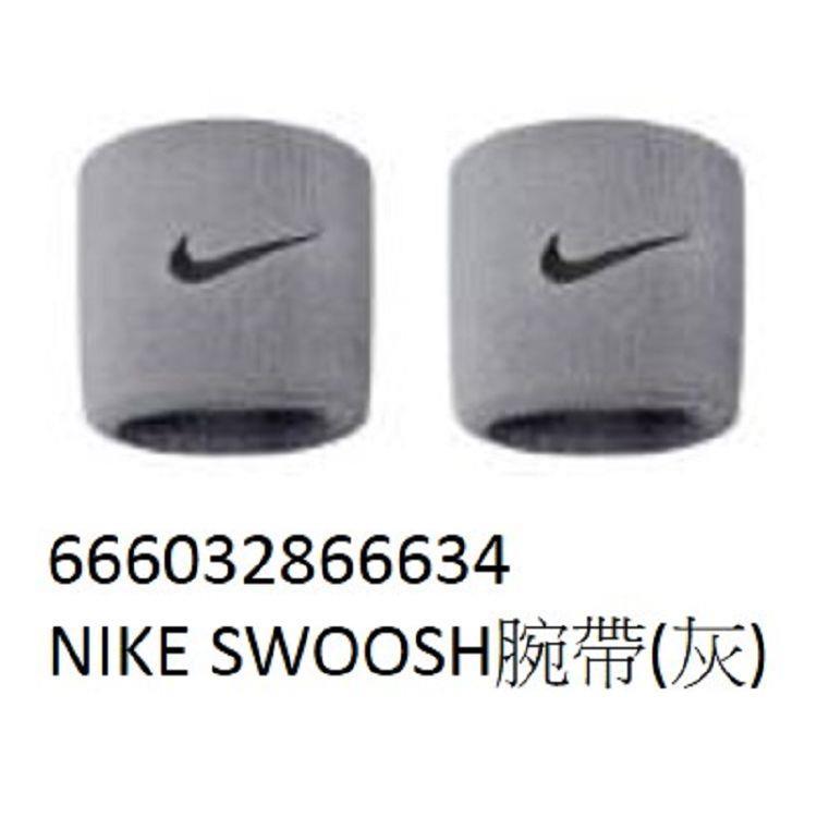 NIKE-SWOOSH腕帶(灰)