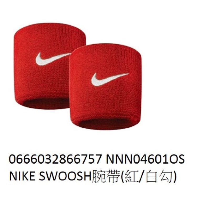 NIKE-SWOOSH腕帶(紅)