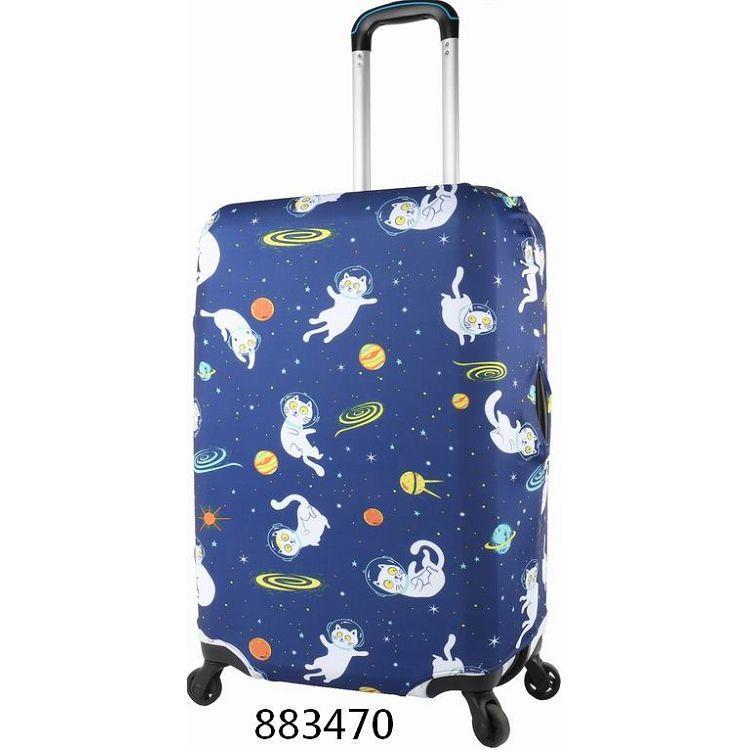 """行李箱保護套18""""~22""""/太空貓"""