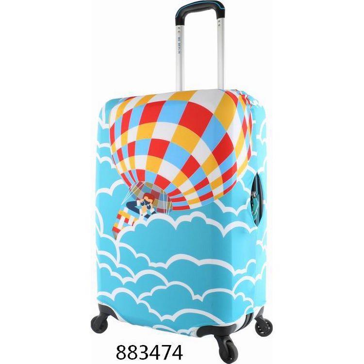 """行李箱保護套22""""~26""""/熱氣球"""