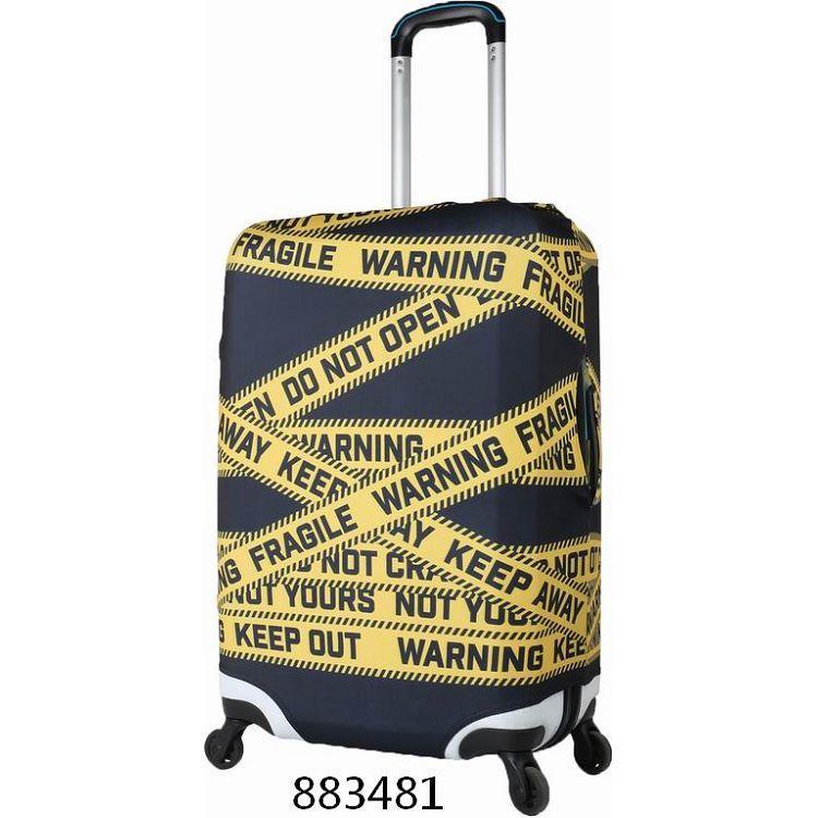 """行李箱保護套22""""~26""""/安全警示"""