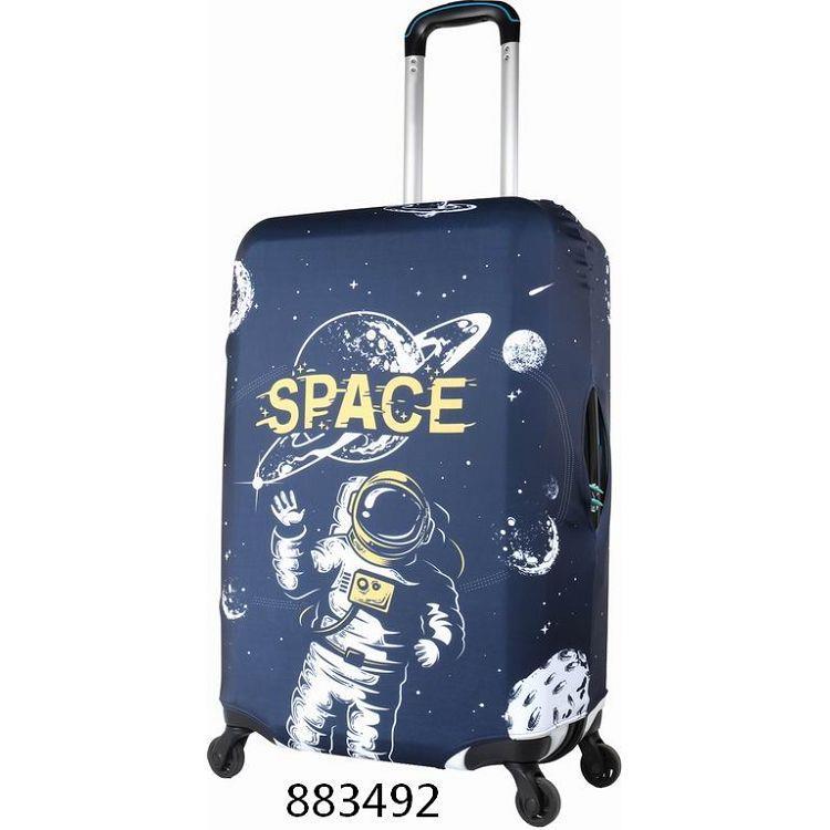 """行李箱保護套26""""~28""""/太空漫步"""