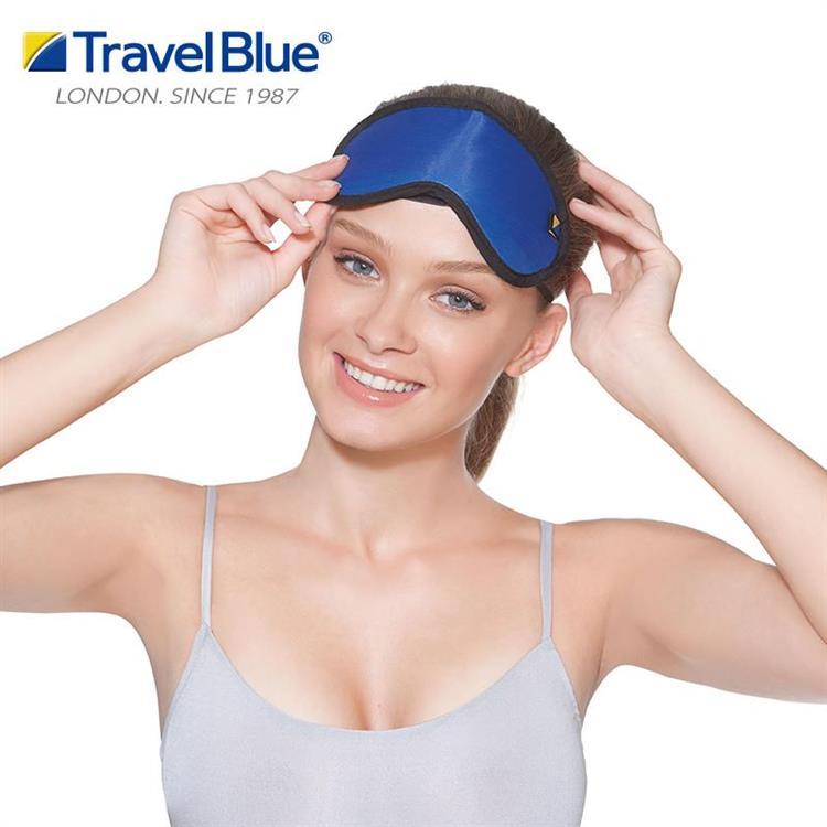 【Travel blue 英國藍旅】眼罩+耳塞 TB451