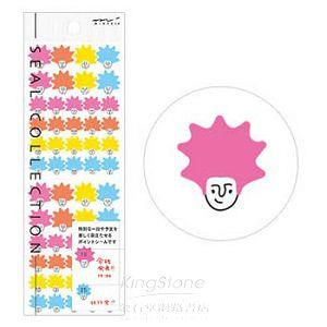 【MIDORI】手帳專用貼紙III-龐克頭(8405)