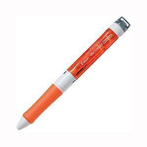 百樂輕油馬上改三色筆0.7-透明橘