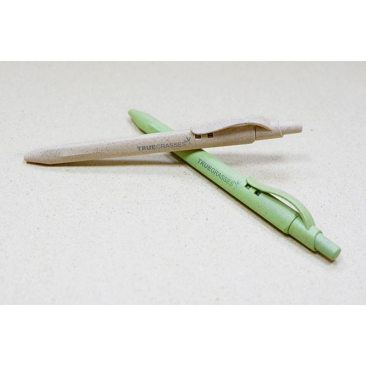 【Truegrasses】真稻筆2入組(米/綠)