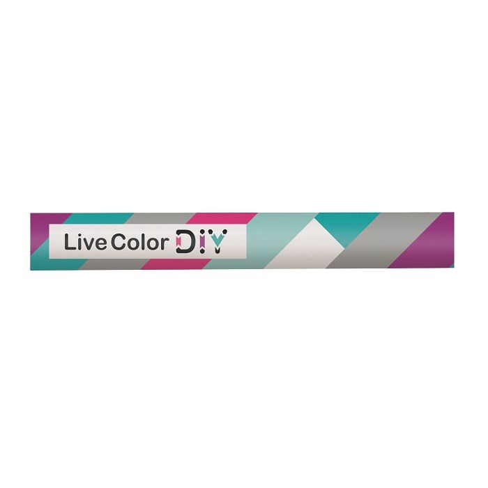 慕那美Live Color玩色DIY普普風筆桿-B色塊