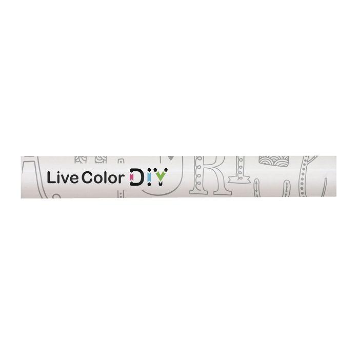 慕那美Live Color玩色DIY普普風筆桿-C字母