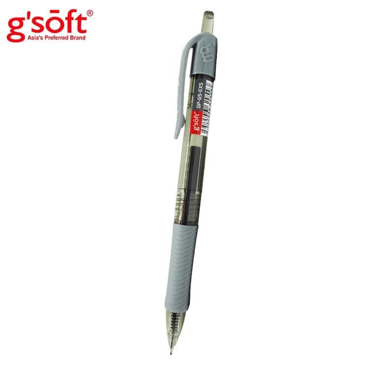 龍品GS-EX5 自動中性筆0.5-黑