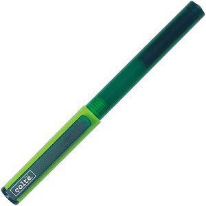 COLTE國民鋼筆組-綠F(鋼筆+卡式墨水10色)