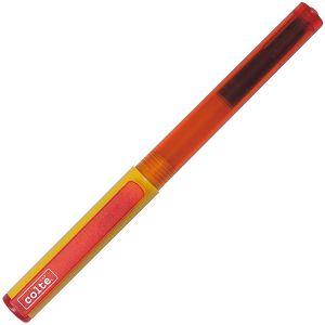 COLTE國民鋼筆組-桔黃EF(鋼筆+卡式墨水10色)