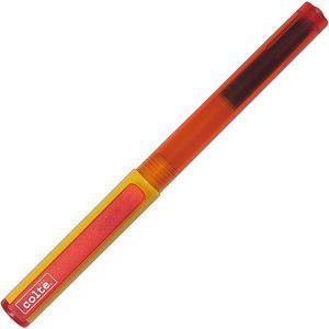 COLTE國民鋼筆組-桔黃F(鋼筆+卡式墨水10色)