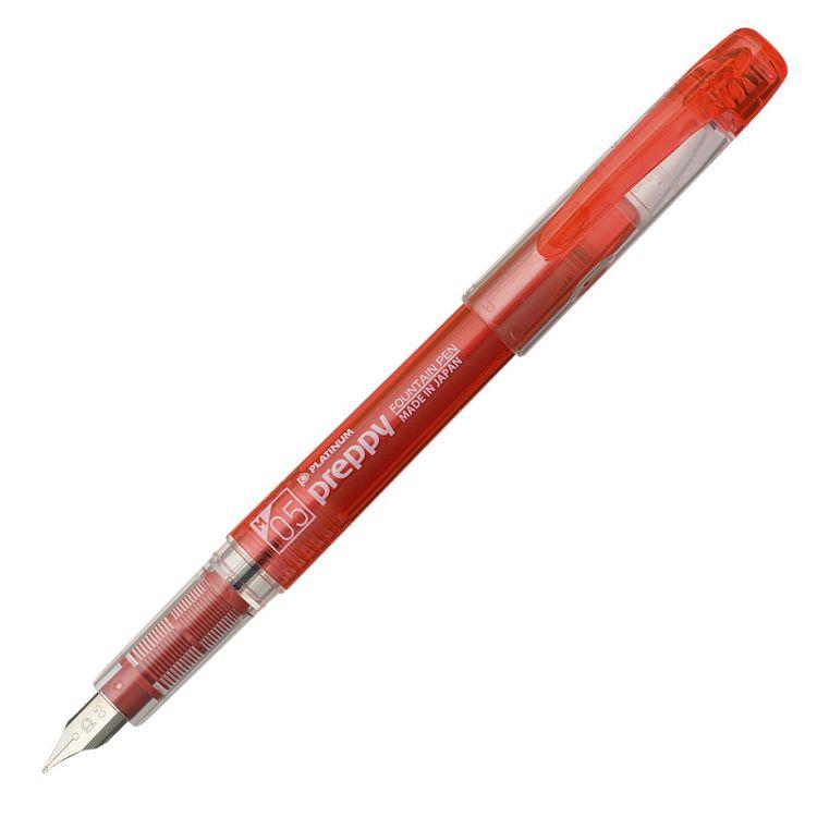 PLATINUM PSQ300萬年鋼筆0.5(M)-紅