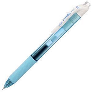 Pentel BLN105極速X鋼珠筆0.5盒裝12入-淺藍桿藍芯