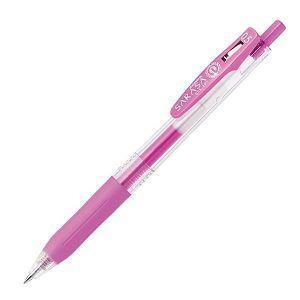 斑馬SARASA CLIP霓虹鋼珠筆0.5-螢光紫