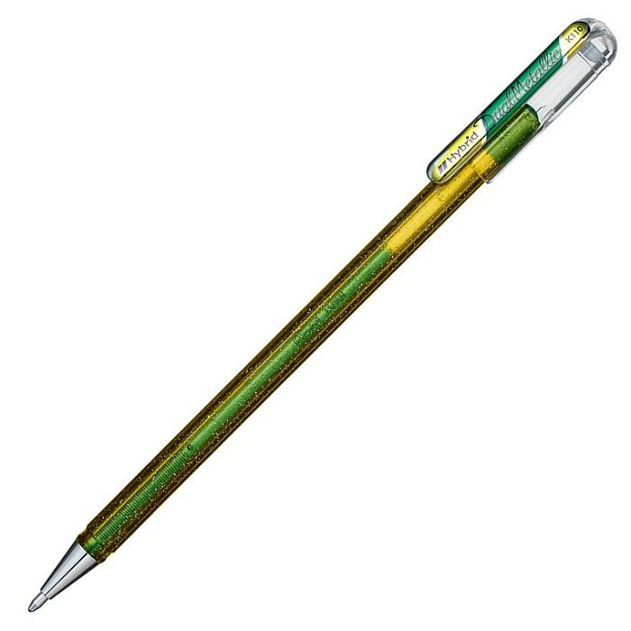 PENTEL 蝴蝶筆-綠+金屬黃 (限量版)
