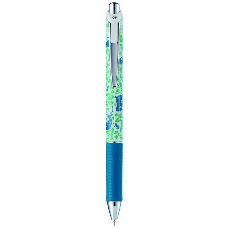 PENTEL 印花樂極速自動鋼珠筆0.5-動物森林桿 (限量版)