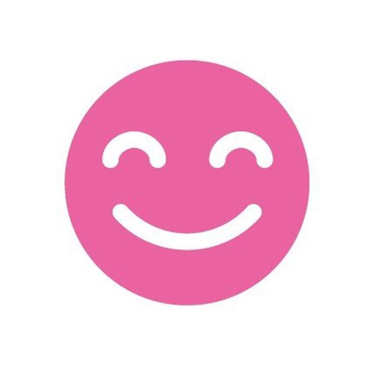 百樂魔擦印章05P-笑臉