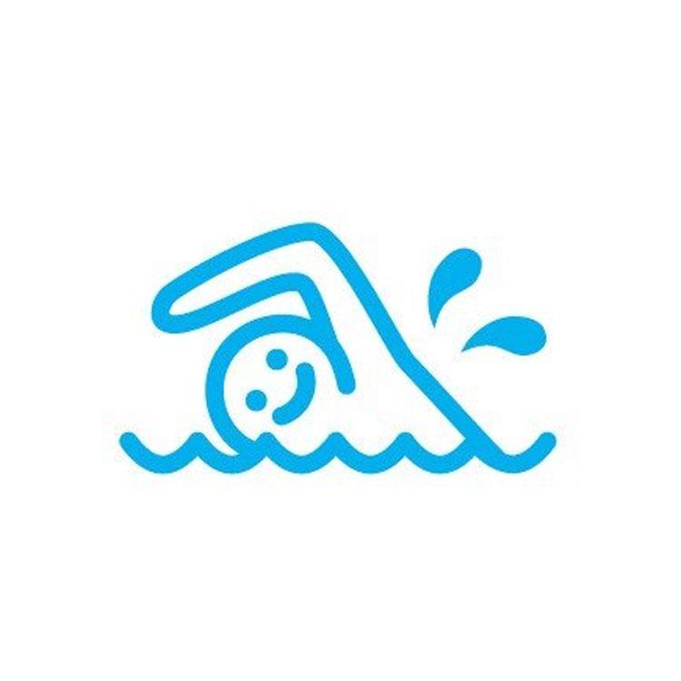 百樂魔擦印章26LB-游泳