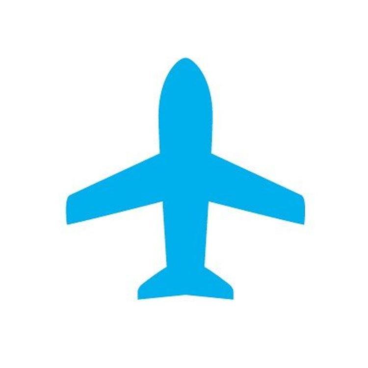 百樂魔擦印章33LB-飛機