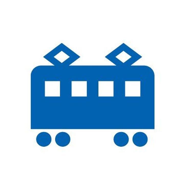百樂魔擦印章35L-電車