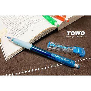 TOWO搖擺自動鉛筆0.5+2B芯-藍