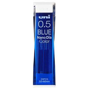 【uni】三菱Nano Dia彩色自動鉛筆芯0.5-藍