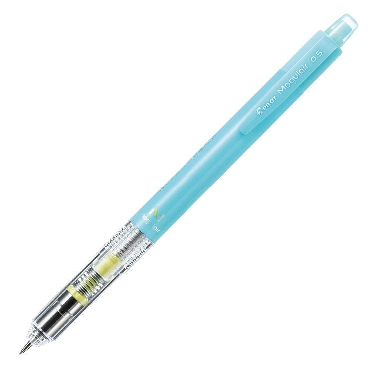 百樂不易斷芯搖搖自動鉛筆0.5-冰藍